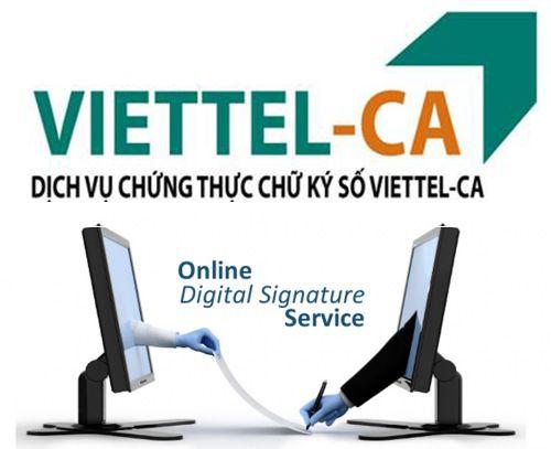 viettel ca, chữ ký số, gia hạn chữ ký số viettel