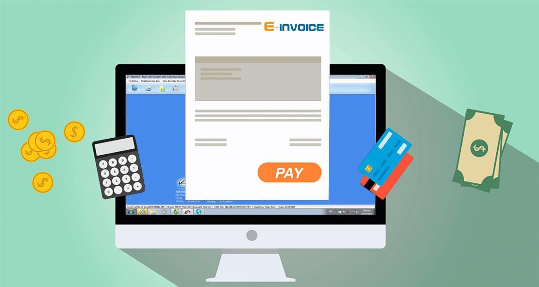 hoa don dien tu, phần mềm hóa đơn điện tử